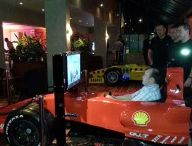 Hire Formula 1 Cockpit Simulator