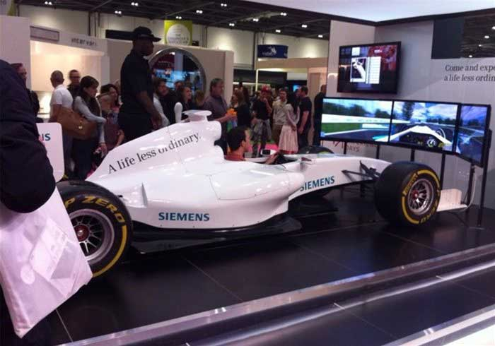 Formula 1 Simulator | Hire or Book for Events | ES Promotions