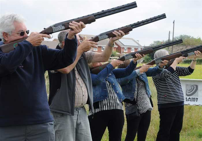Hire Outdoor Laser Clay Pigeon Shooting