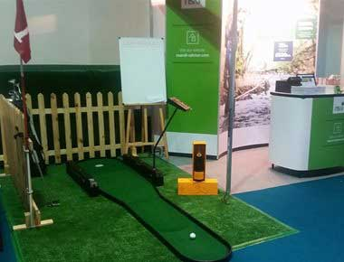 Hire Putting Simulator
