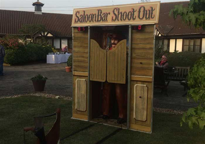 Hire Saloon Bar Shootout Game
