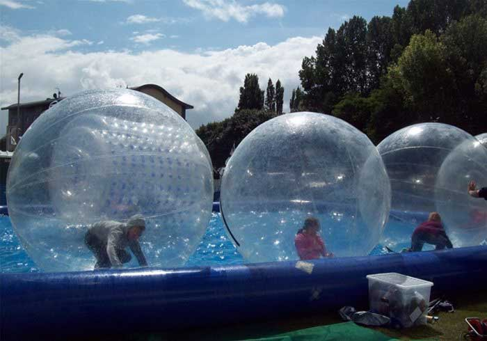 Hire Water Zorbs and pool
