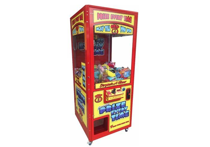 A manufacturers image of a branded arcade grabber