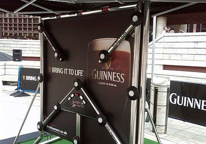 Batak Wall at a Guiness Promotion