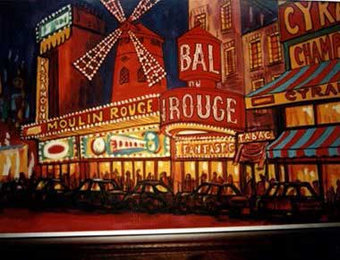 Hire Moulin Rouge Theme Parties