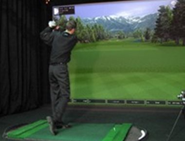 Full Sized Golf Simulator
