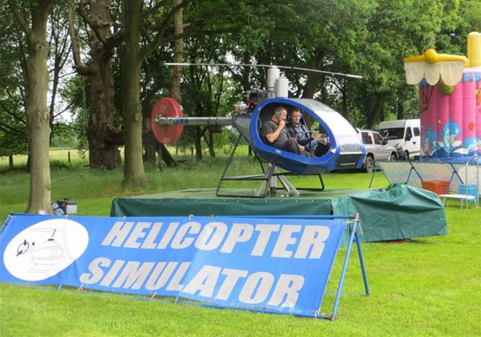 Motion Based Helicopter Simulator