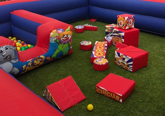 Childrens soft play arena