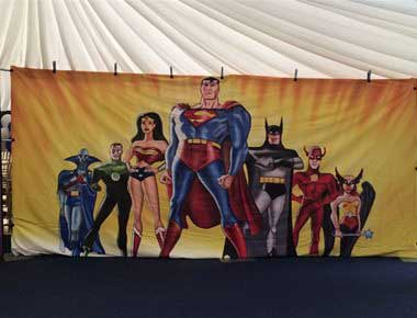 Backdrop Hire