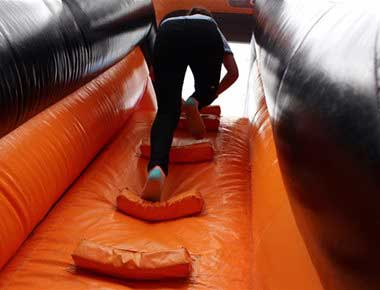 Fun Inflatable Obstacle Course