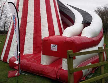 Giant Helter Skelter Slide