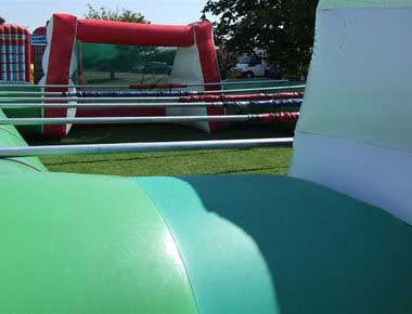 Human Table Football Game