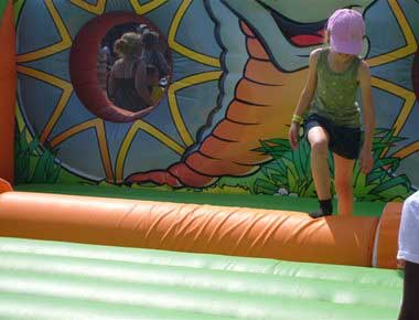 Log Roll Inflatable Fun