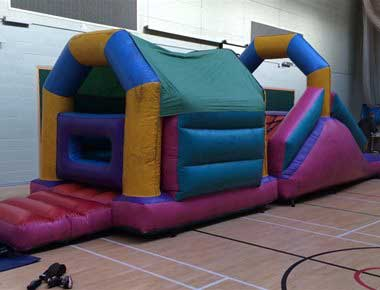 Inflatable Mini Assault Course Fun
