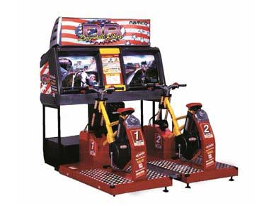 Downhill Bike Racer Arcade Machine