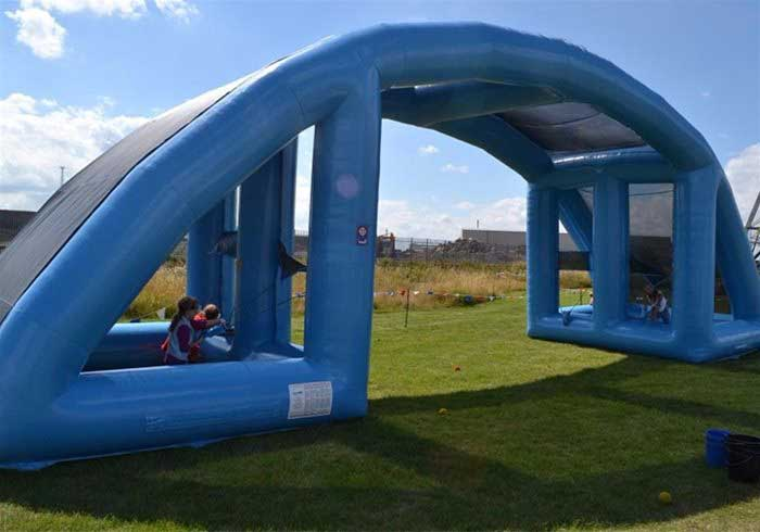 Giant Inflatable Water Fight