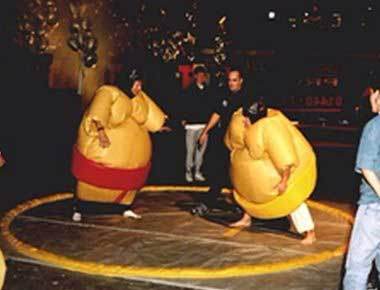 Fun sumo wrestling suits