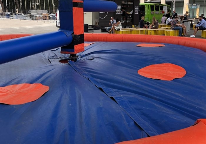 Last Man Standing Inflatable Game