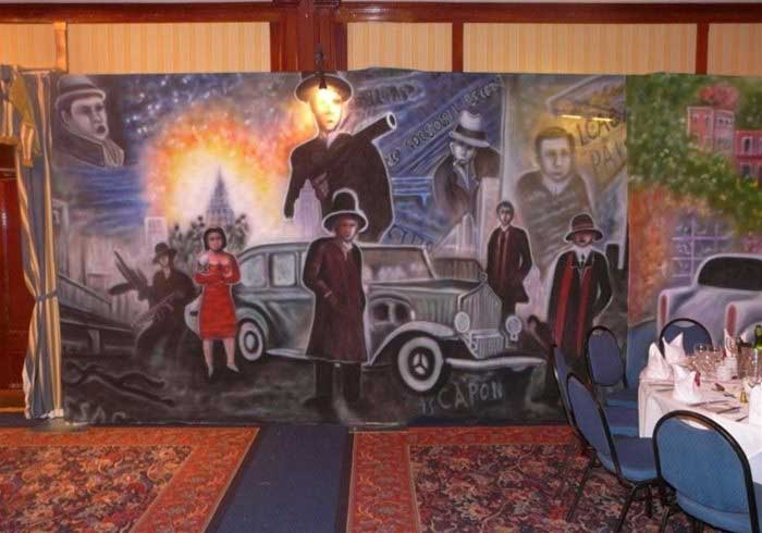 1920s backdrops for hire