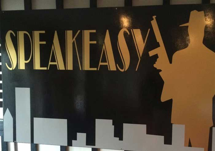 Speakeasy sign