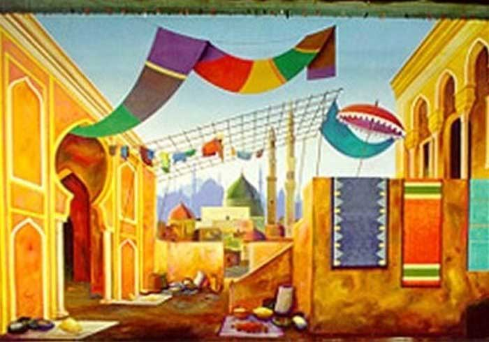 Arabian Delights Theme Backdrops