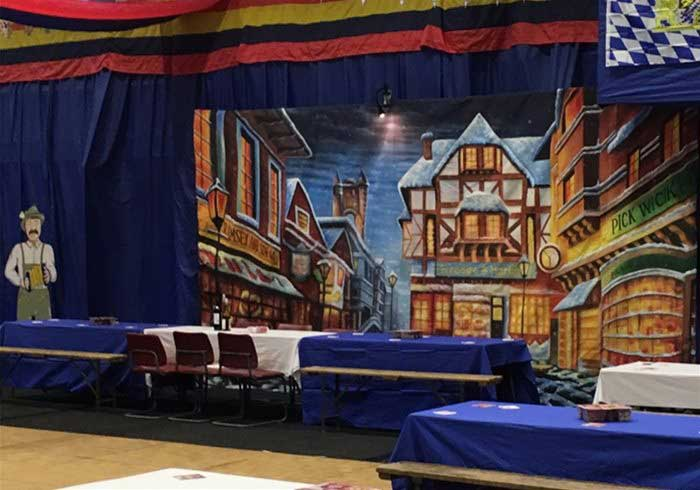 Bavarian Oktoberfest Theme Backdrops