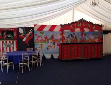 Circus Theme Backdrops