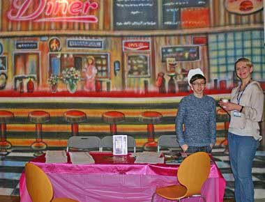 Grease Theme Backdrops